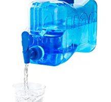 Dispensador de agua de cristal